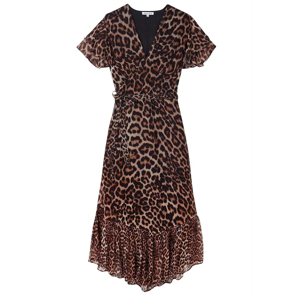 Drew Dress - Wild Cat