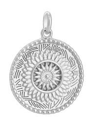 KIRSTIN ASH Traveller Coin Charm - Silver