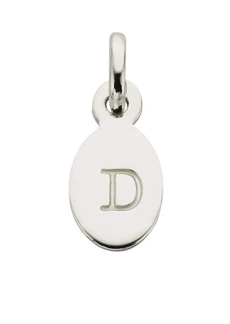 Bespoke Alphabet 'D' Charm - Silver main image