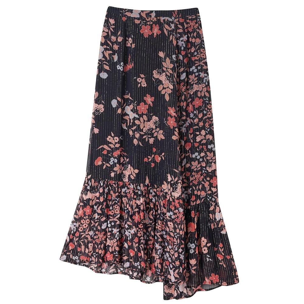 Cleo Skirt - Black Jasmine