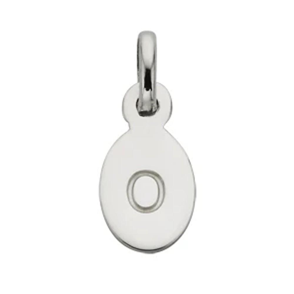 Bespoke Alphabet 'O' Charm - Silver