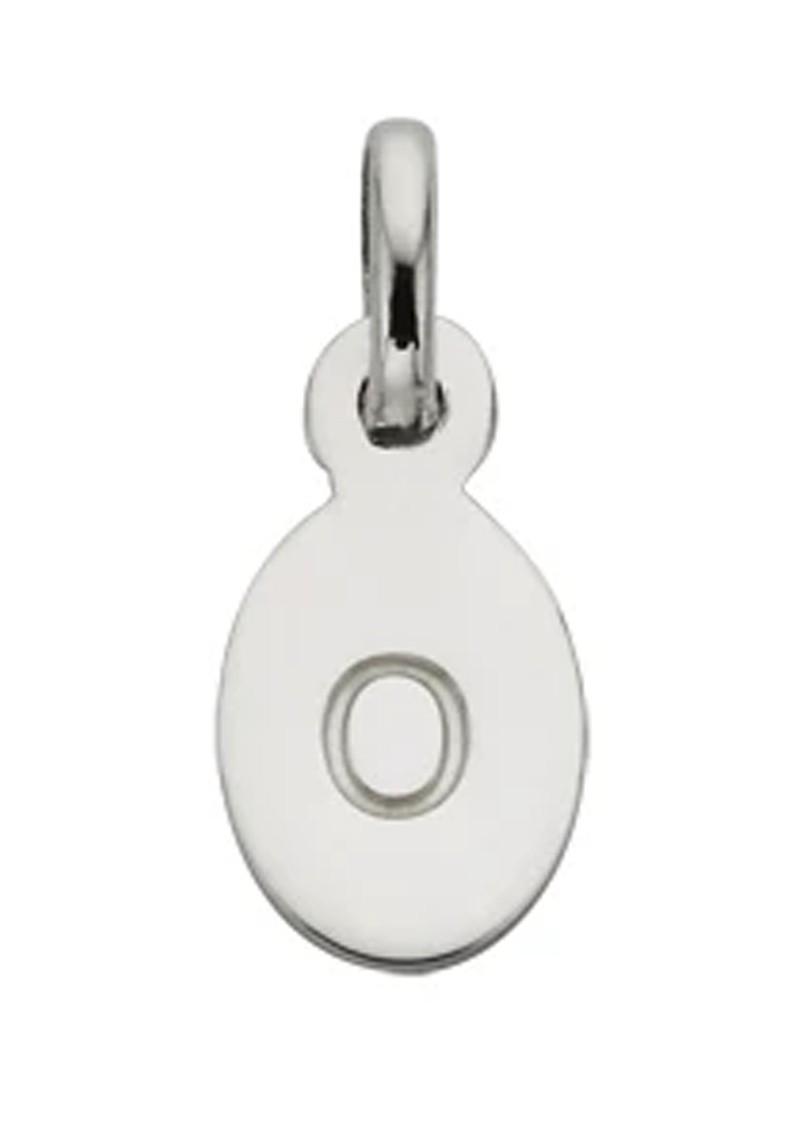 KIRSTIN ASH Bespoke Alphabet 'O' Charm - Silver main image