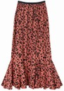 Lily and Lionel Ford Skirt - Rose Leopard