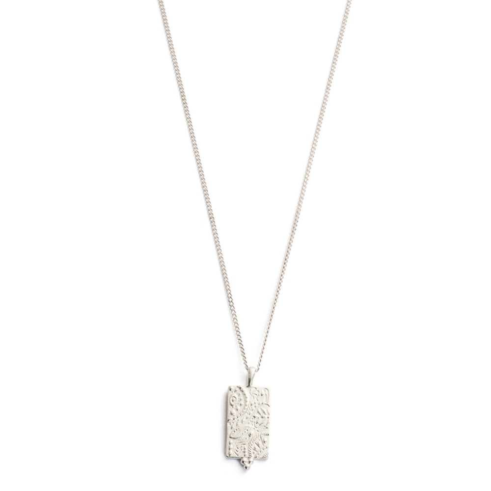 Marrakech Coin Necklace - Silver