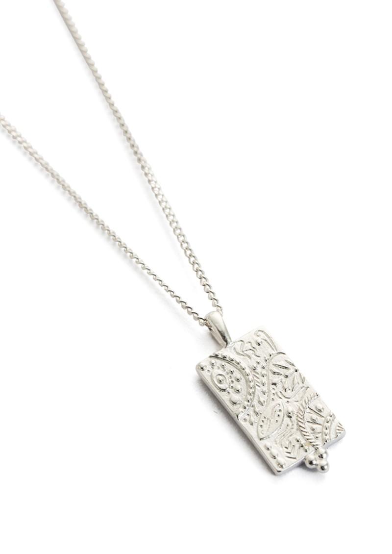 KIRSTIN ASH Marrakech Coin Necklace - Silver main image