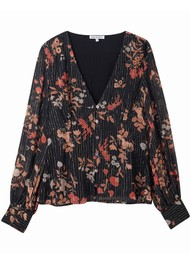 Lily and Lionel Wren Top - Black Jasmine