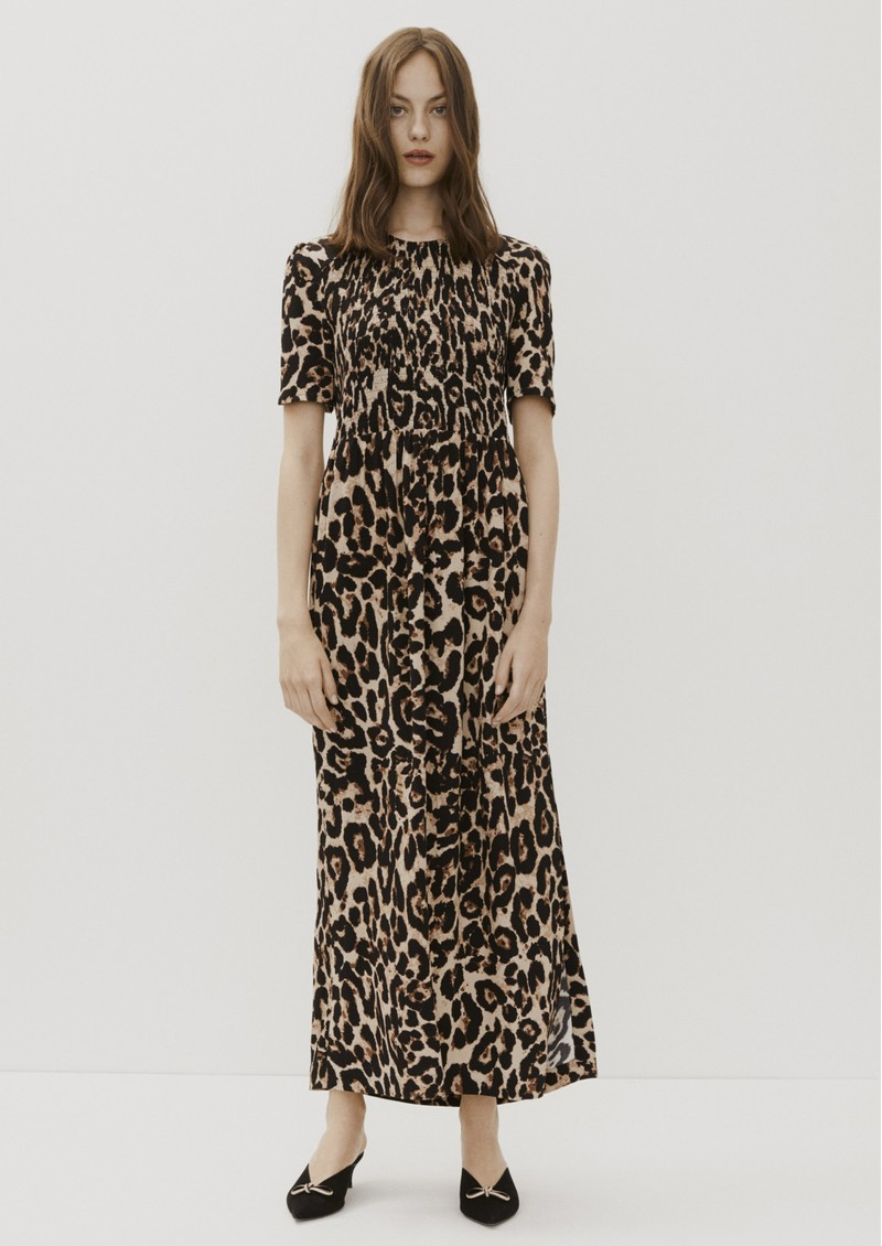 Adamaris Dress - Wild Leopard main image