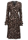Adelota Wrap Dress - Wild Leopard additional image
