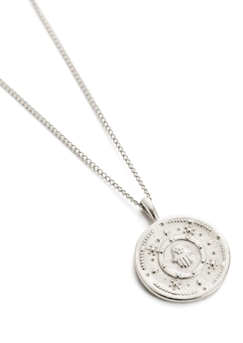 KIRSTIN ASH Hamsa Protection Necklace - Silver main image