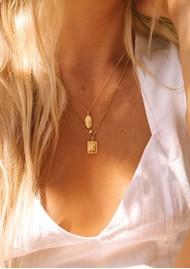 KIRSTIN ASH Bespoke Lucky Star Pearl Charm - Rose Gold