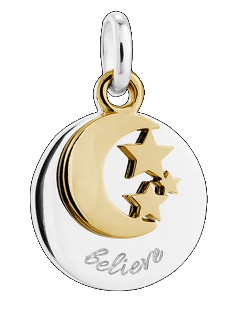 KIRSTIN ASH Bespoke Believe Double Charm - Silver & Gold main image