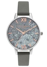 Olivia Burton Terrazzo Floral Watch - Dark Grey & Silver