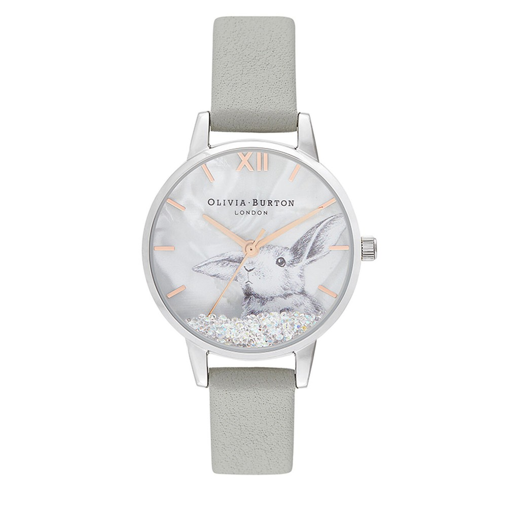 Winter Wonderland Watch - Grey & Silver