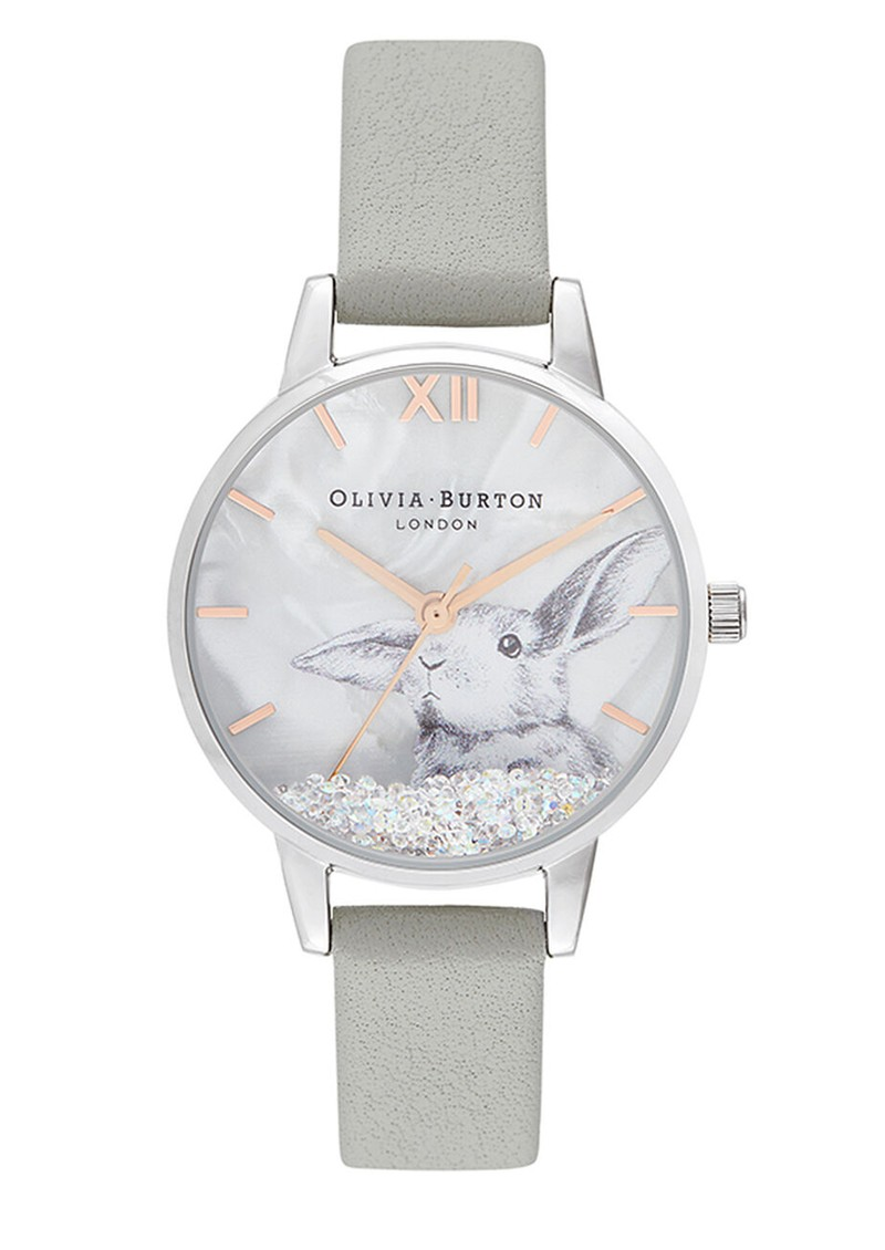 Olivia Burton Winter Wonderland Watch - Grey & Silver main image
