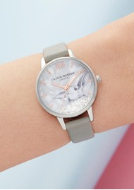 Olivia Burton Winter Wonderland Watch - Grey & Silver