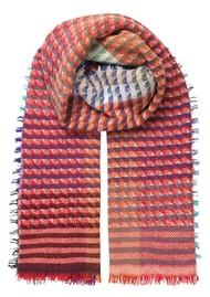 Becksondergaard Idun Wool Mix Scarf - Pink