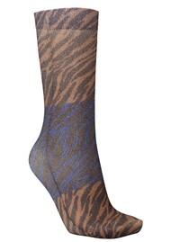 Becksondergaard Dagmar Zebra Socks - Brownish