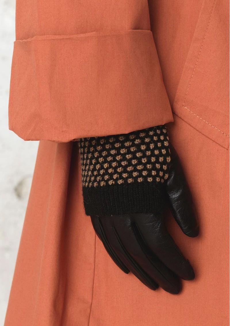 Becksondergaard Riga Leather Gloves - Soft Beige main image