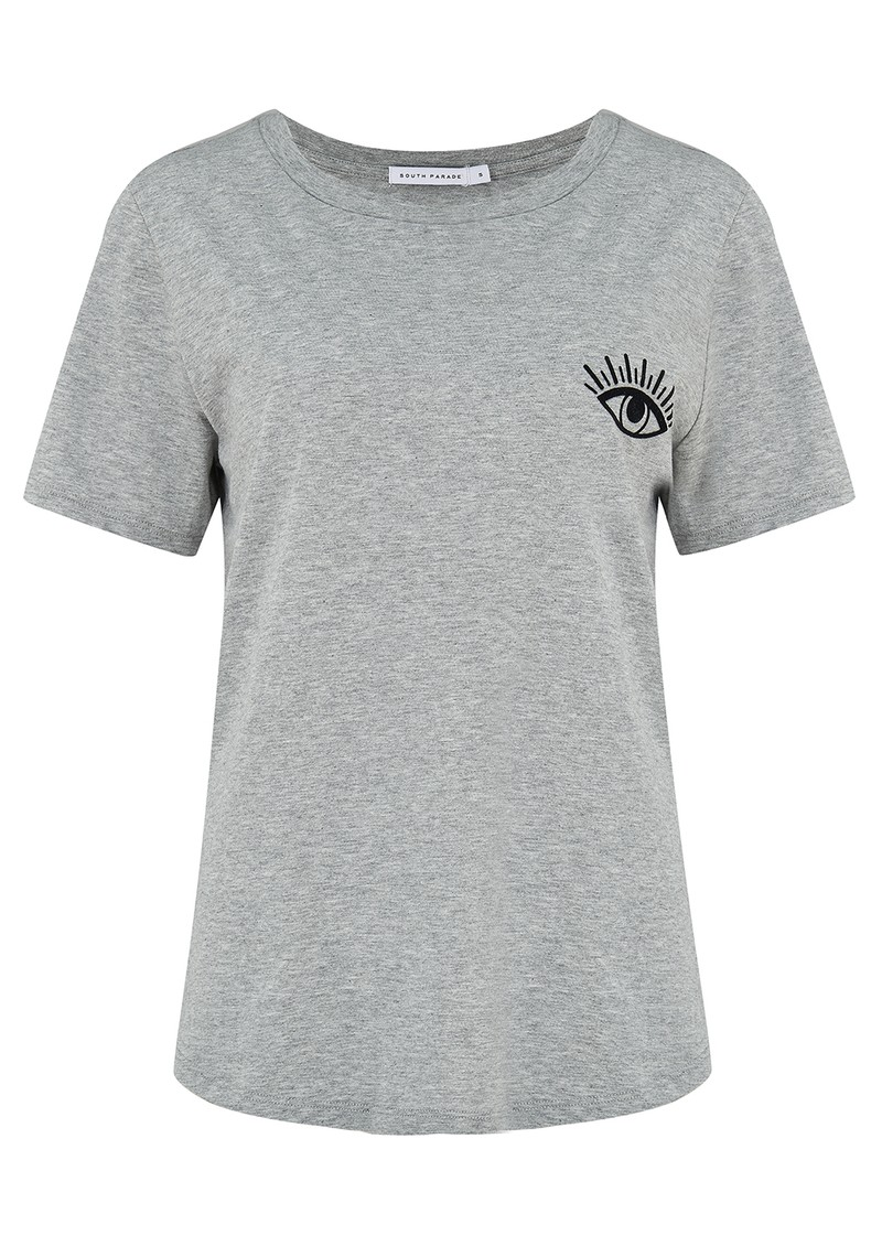 SOUTH PARADE Lola 'Evil Eye' T-Shirt - Heather Grey main image