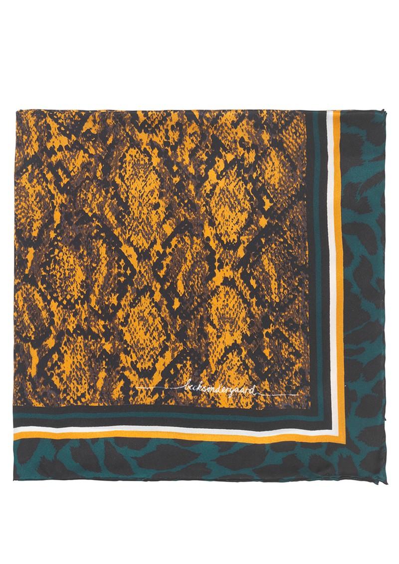Becksondergaard Santine Silk Scarf - Golden Yellow main image
