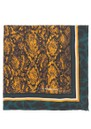 Santine Silk Scarf - Golden Yellow additional image