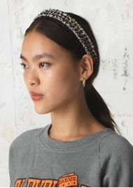 Becksondergaard Sequins Hairband - Black