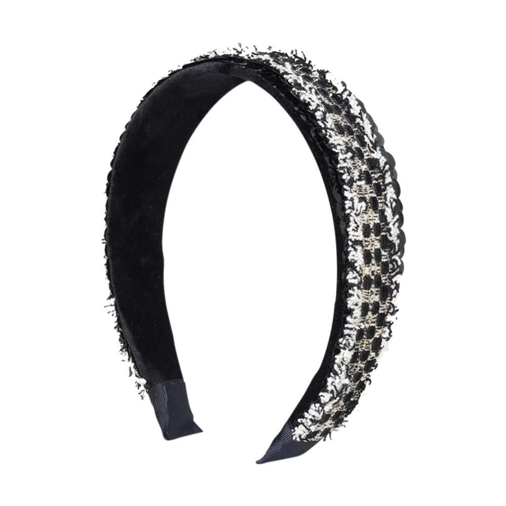 Sequins Hairband - Black