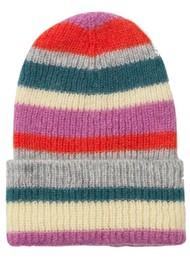 Becksondergaard Jadia Lovely Stripes Knitted Hat - Petrol