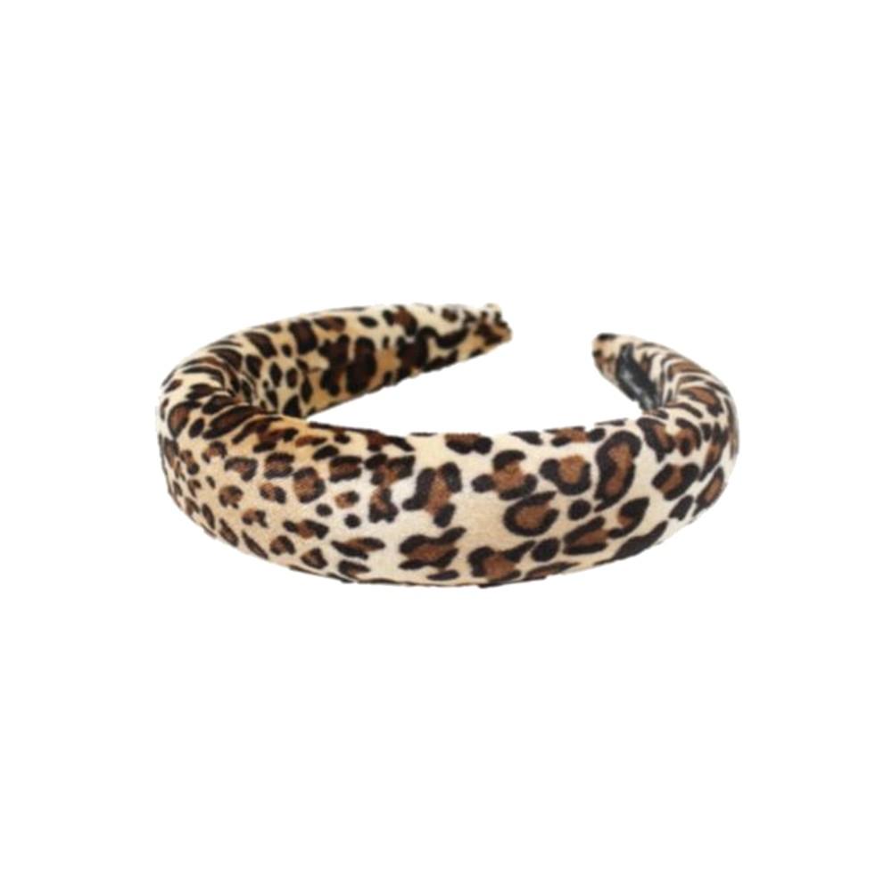 Padded Headband - Leopard