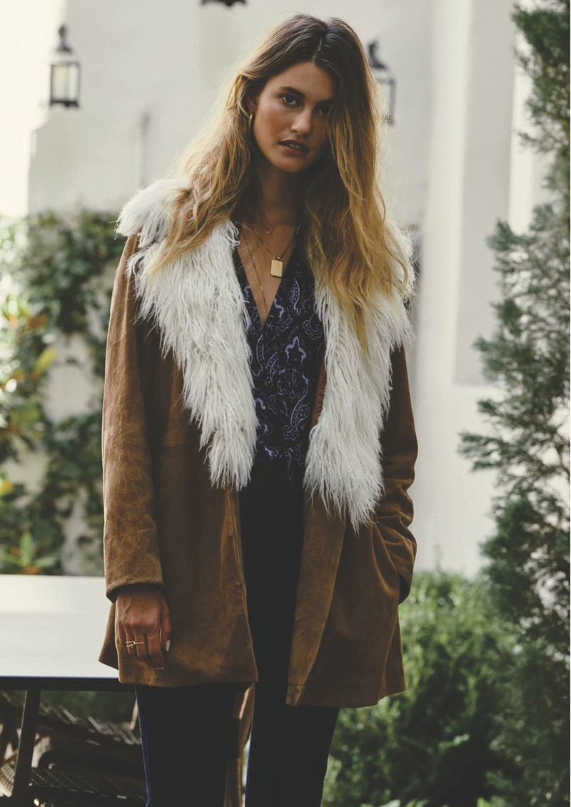 Paige Denim Cleobelle Blouse - Granite Wandering Paisley main image