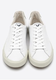VEJA Esplar Logo Leather Trainers - Extra White
