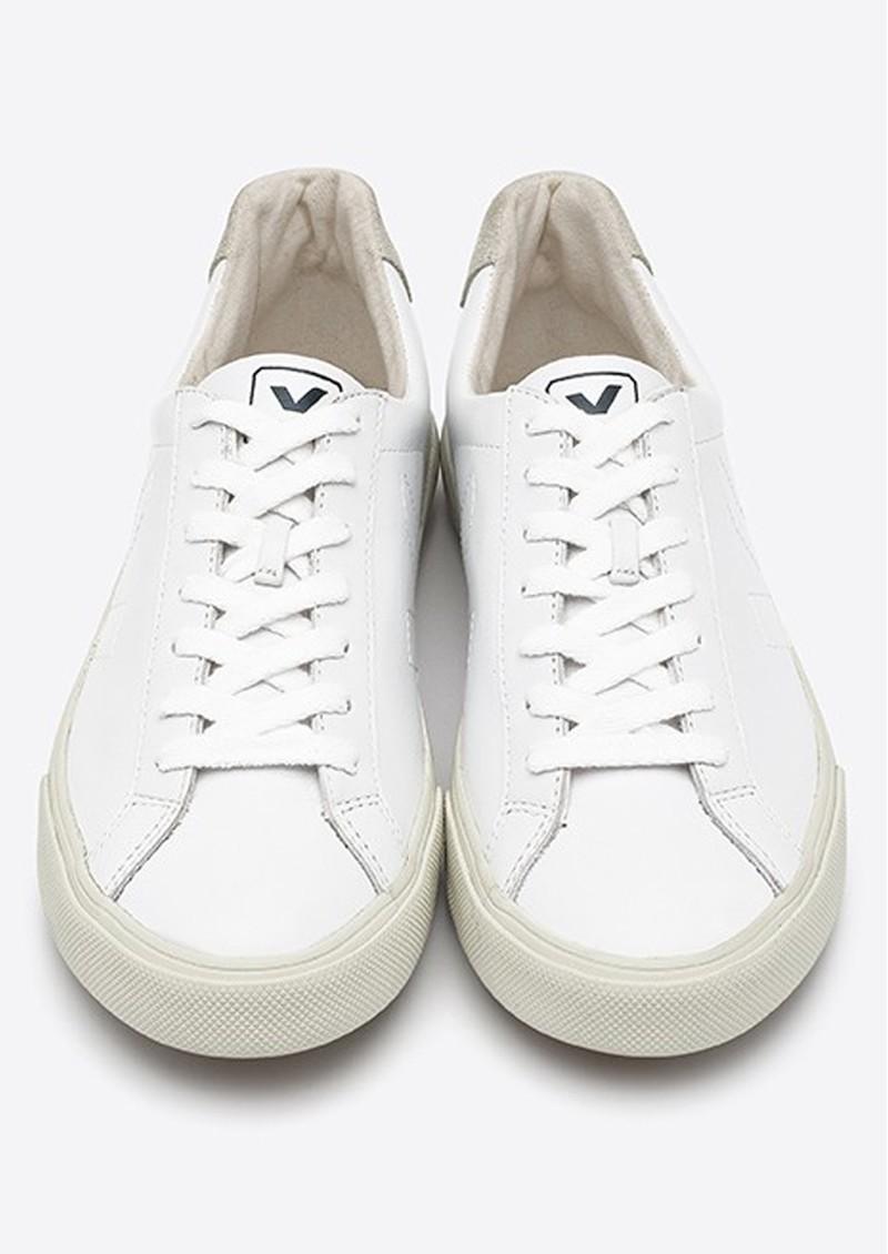 VEJA Esplar Logo Leather Trainers - Extra White main image