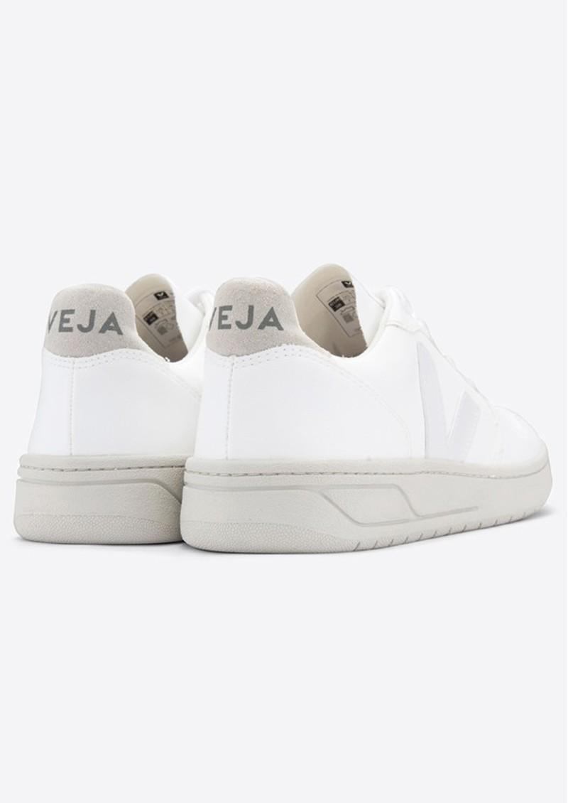 VEJA V-10 Bastille Vegan Trainers - Extra White & Natural main image