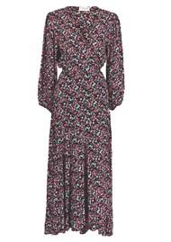 ESSENTIEL ANTWERP VIP Wrap Maxi Dress - Combo 1 Black