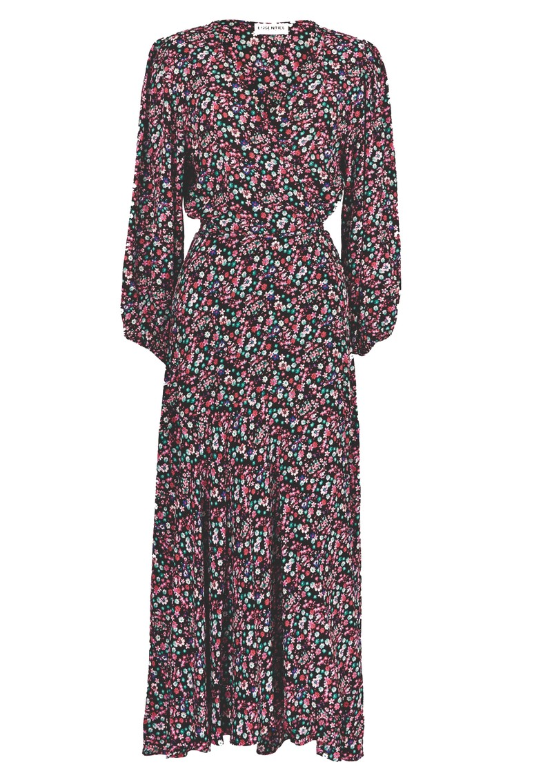 ESSENTIEL ANTWERP VIP Wrap Maxi Dress - Combo 1 Black main image