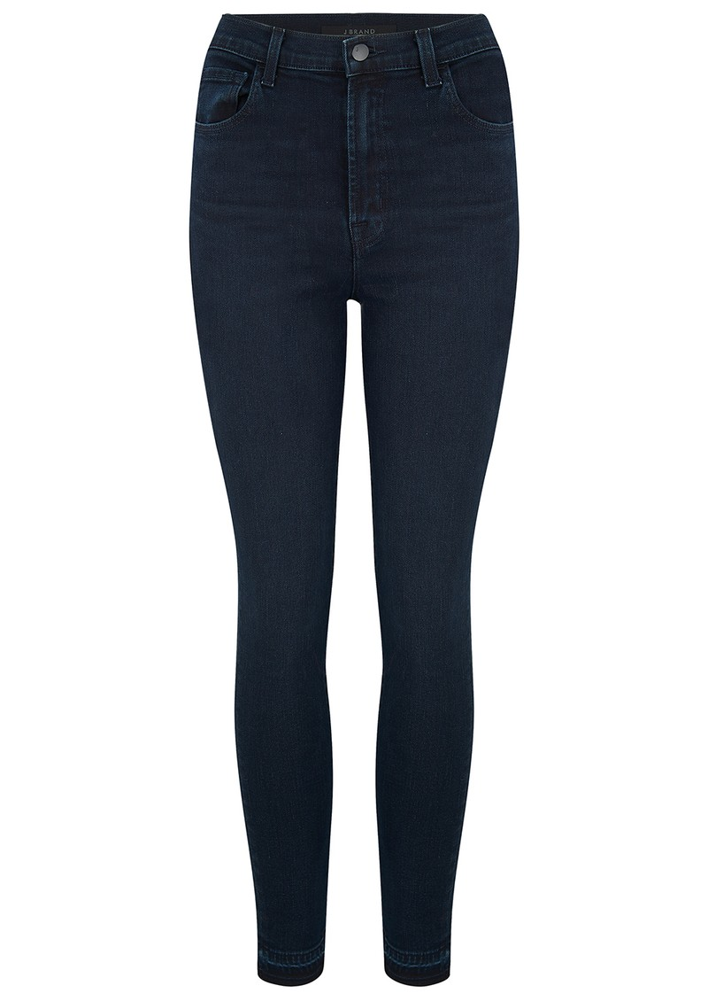 J Brand Leenah Super High Rise Ankle Skinny Jeans - Complex main image
