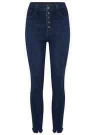 J Brand Lillie High Rise Crop Skinny Jeans - Egotism
