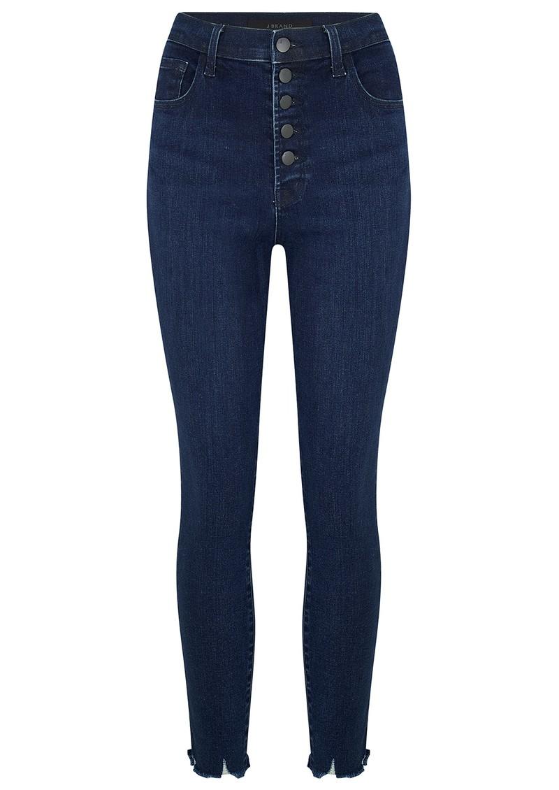 J Brand Lillie High Rise Crop Skinny Jeans - Egotism main image