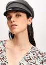 ESSENTIEL ANTWERP Valilia Rhinestone Earrings - Black