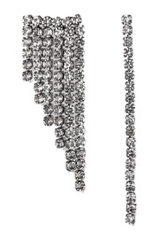 ESSENTIEL ANTWERP Valilia Rhinestone Earrings - Silver