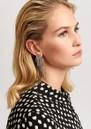 ESSENTIEL ANTWERP Valilia Rhinestone Earrings - Silver