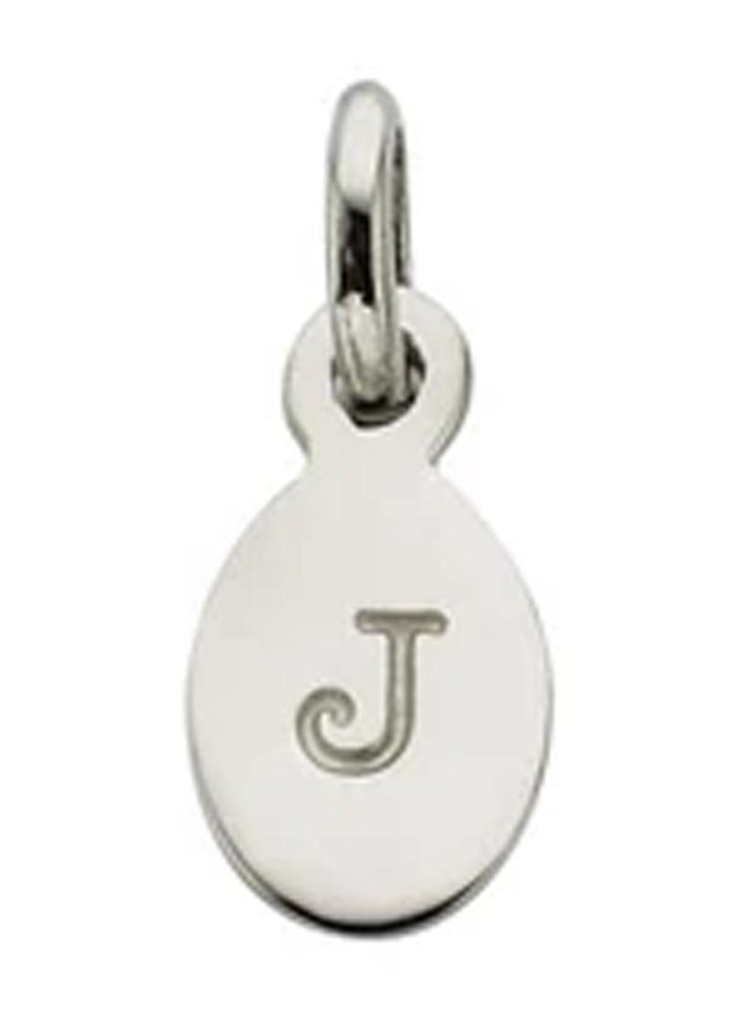 KIRSTIN ASH Bespoke Alphabet 'J' Charm - Silver main image