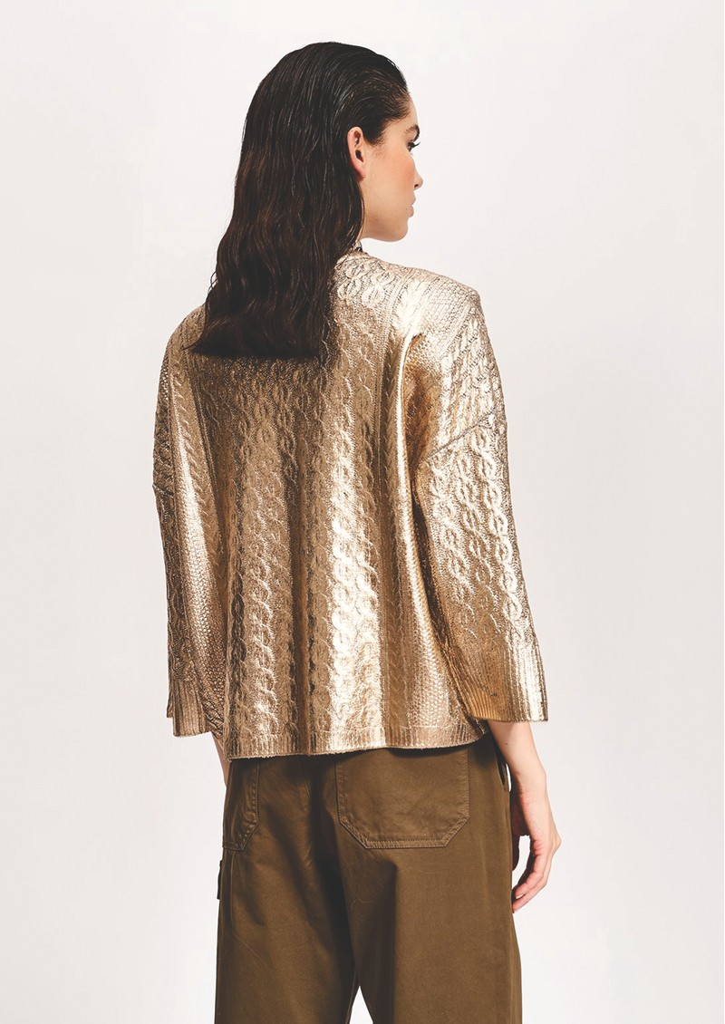 ESSENTIEL ANTWERP Varadero Jumper - Gold main image
