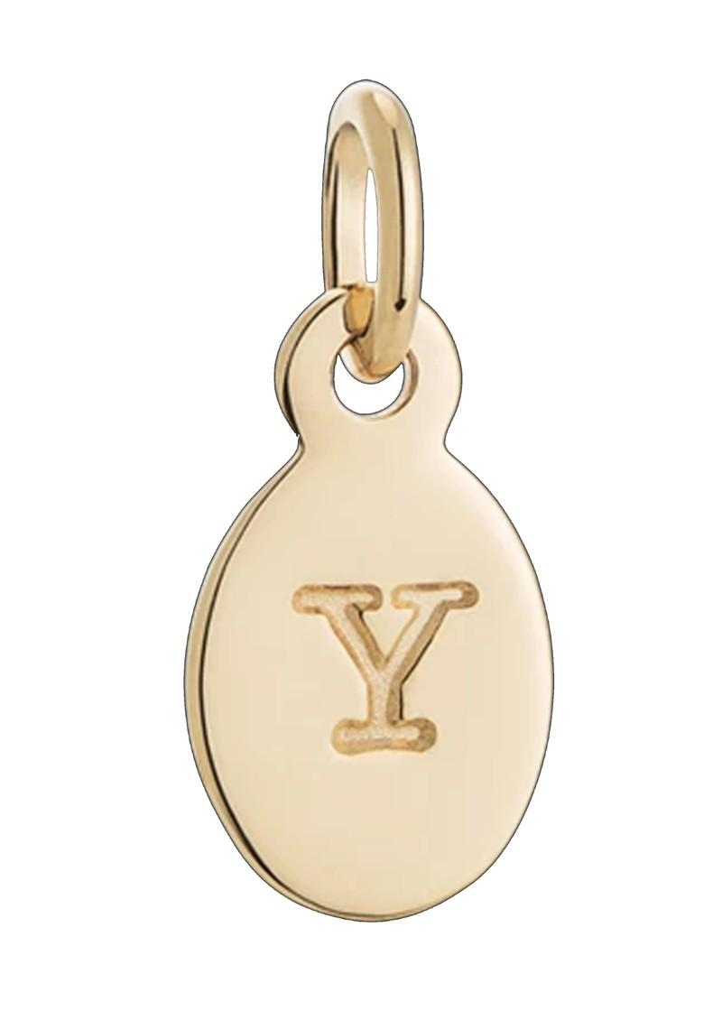 KIRSTIN ASH Bespoke Alphabet 'Y' Charm - Gold main image
