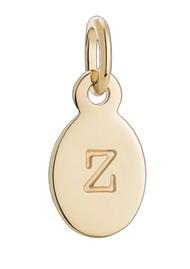 KIRSTIN ASH Bespoke Alphabet 'Z' Charm - Gold