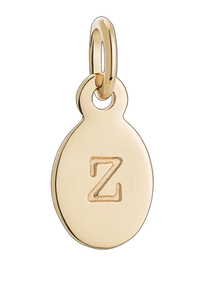 KIRSTIN ASH Bespoke Alphabet 'Z' Charm - Gold main image