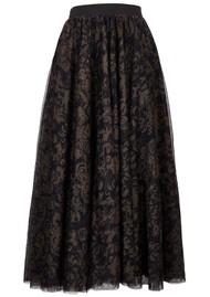 ESSENTIEL ANTWERP Vroom Vroom Tulle Midi Skirt - Combo 1 Moss