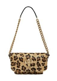 Sous Les Paves Mai Tai Elephant Shoulder Bag - Leopard