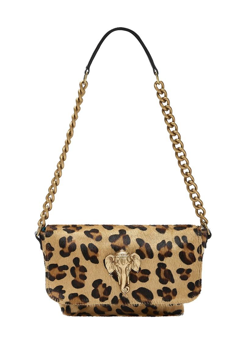 Sous Les Paves Mai Tai Elephant Shoulder Bag - Leopard  main image