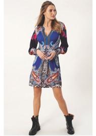 Hale Bob Precious Beaded Dress - Blue
